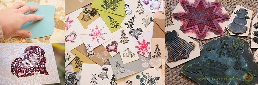 Create easily your own stamps and prints