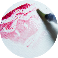 Textures with watercolour