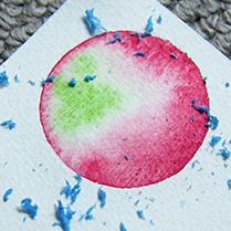 Aquarell Watercolour wasserfarben malerei anleitung instruction texture Strukturen Technik technique