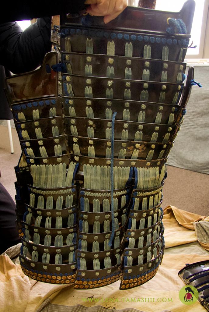 samurai armour rüstung urushi japanese lacquer