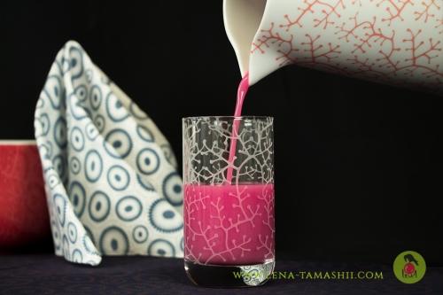 Axolotl Geschirr dekor decor Porzellan China porcelain coral korall Unterglasurmalerei under glaze painting