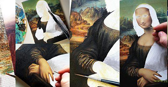 How I copied the Mona Lisa