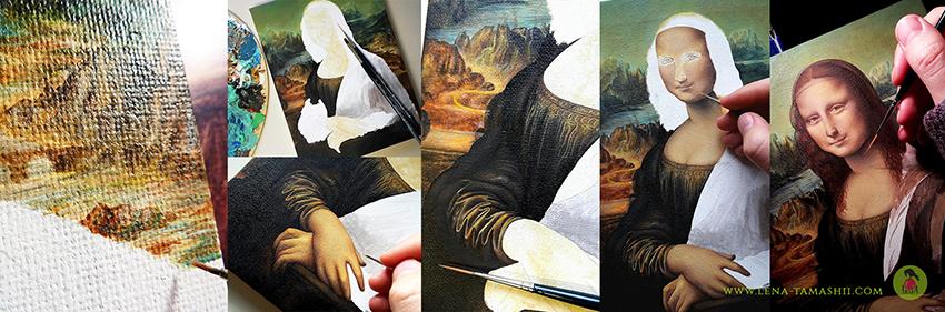 Wie ich die Mona Lisa kopierte