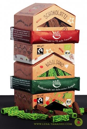 Nudeln noodels pasta packaging design verpackungsdesign Produktdesign Illustration food 2